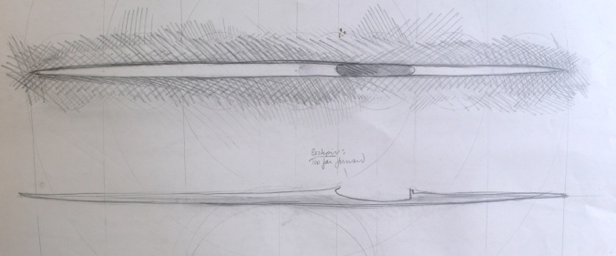 Boat Drawing from 1987